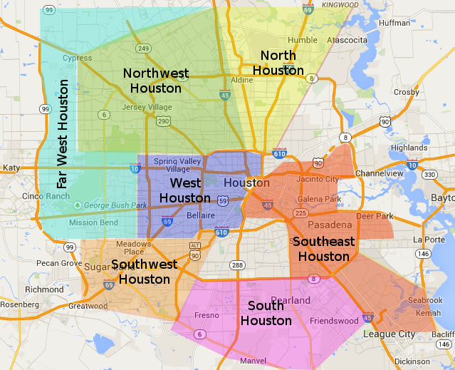 Houston Area Meal & Dinner Delivery Map   Maria's Gourmet Kitchen