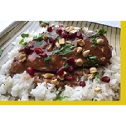 Pomegranate Coconut Chicken