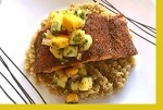 Blackened Salmon with Mango Salsa
