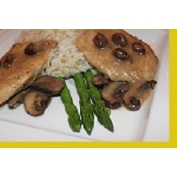 Spanish Chicken with Mushrooms